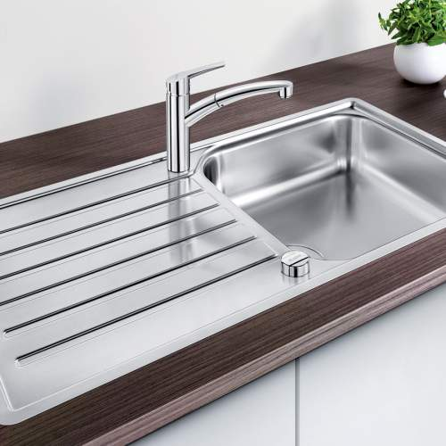 Blanco LANTOS XL 6 S-IF Single Bowl Inset Kitchen Sink - BL453630