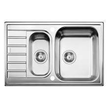 Blanco LIVIT 6 S COMPACT 1.5 Bowl Kitchen Sink with Drainer - BL453260