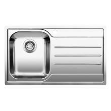 Blanco MEDIAN 45 S-IF Single Bowl Inset Kitchen Sink with Drainer - BL453263