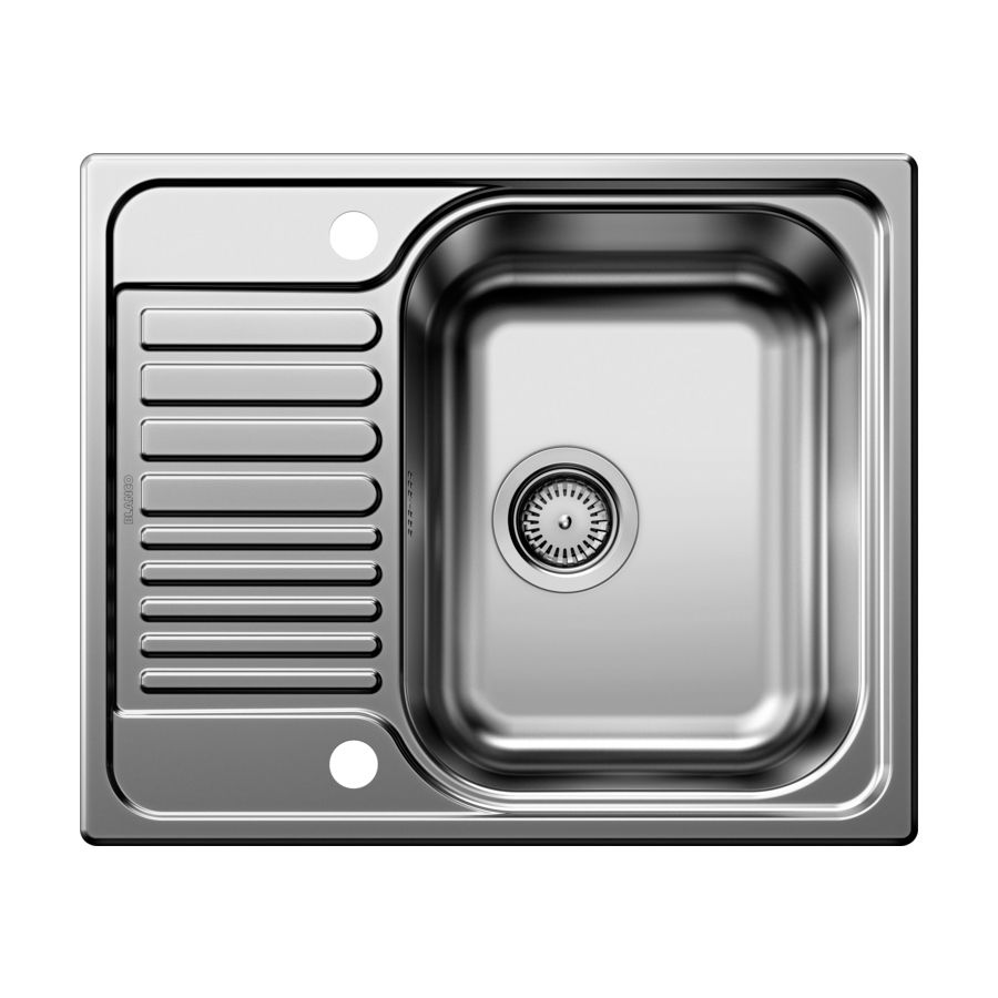 blanco tipo 45 s single bowl mini inset kitchen sink with drainer bl450897 - Compact Kitchen Sink