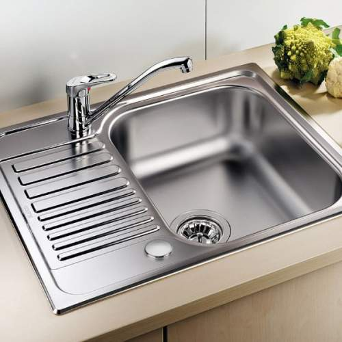 Blanco TIPO 45 S Single Bowl Mini Inset Kitchen Sink with Drainer - BL450897