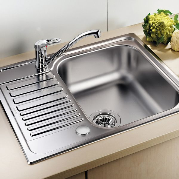 ... Blanco TIPO 45 S Single Bowl Mini Inset Kitchen Sink With Drainer    BL450897 ...