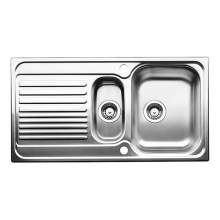 Blanco TIPO 6 S 1.5 Bowl Inset Kitchen Sink with Drainer - BL450740