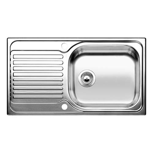 Blanco TIPO XL 6 Single Bowl Inset Kitchen Sink with Drainer - BL450749