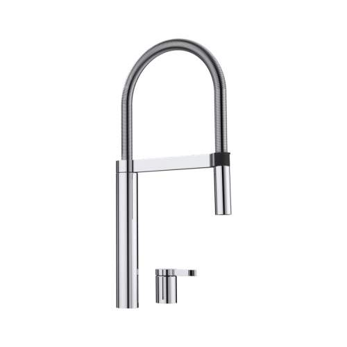 Blanco CULINA-S DUO Remote Control Professional Kitchen Tap with Spray Rinse - BM4900CH