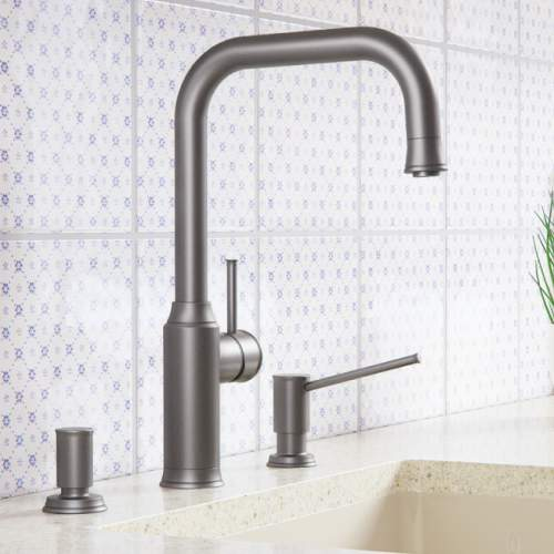 Blanco LIVIA-S Kitchen Tap with Pull Out Spray