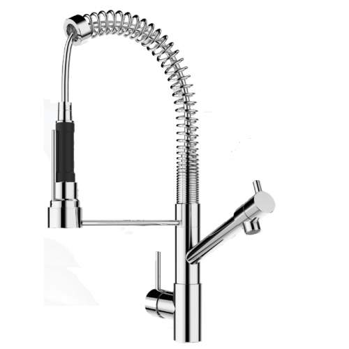 MASTER-S BABY Professional Style Kitchen Tap with Spray Rinse