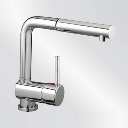Blanco MIXA-S Kitchen Tap with Pull-Out Spray in Chrome - BM2750CH