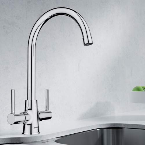 Blanco MODE Dual Lever Kitchen Tap in Chrome - BM5600CH