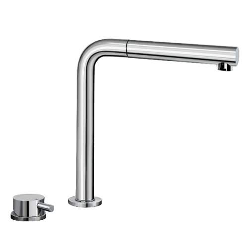 Blanco PERISCOPE-S-F II Height Adjustable Kitchen Tap with Pull Out Spray - BM2250CH