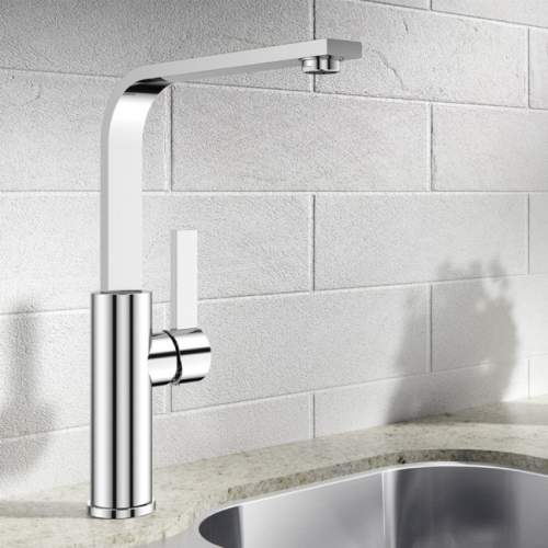 Blanco SOLE Single Lever Kitchen Tap in Chrome - BM1320CH