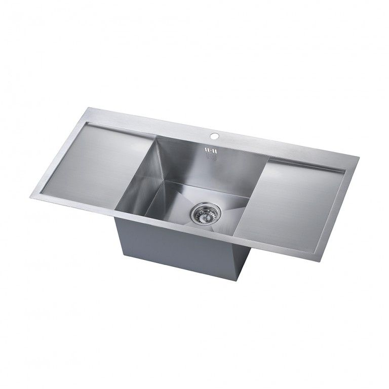kitchen sinks double drainer zenuno 1 0 bowl sink with drainer sinks taps 6069