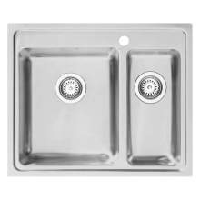 Bluci ORBIT01 TL 1.5 Bowl Inset Sink with Tap Ledge