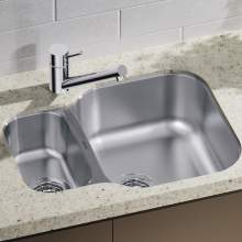 Blanco Essential 530-U Sink with HALF PRICE Peak Tap