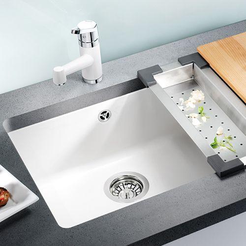 blanco subline 500 u undermount kitchen sink sinks. Black Bedroom Furniture Sets. Home Design Ideas