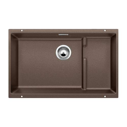Blanco SUBLINE 700-U LEVEL Silgranit® PuraDur II® 1.5 Bowl Undermount Kitchen Sink