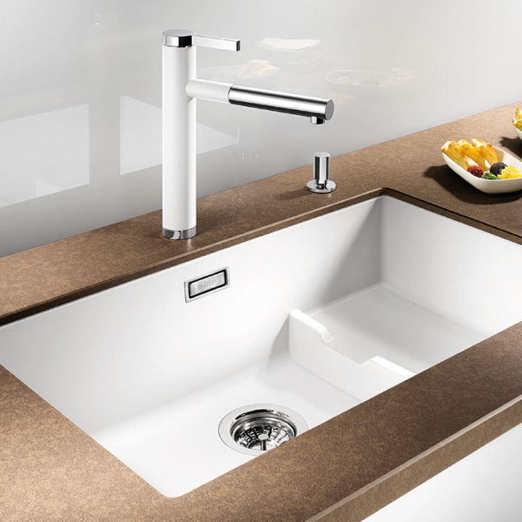 blanco subline 700 u level undermount sink sinks. Black Bedroom Furniture Sets. Home Design Ideas