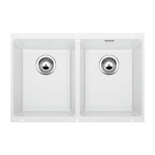 Blanco SUBLINE 350/350-U Silgranit® PuraDur II® Undermount Kitchen Sink