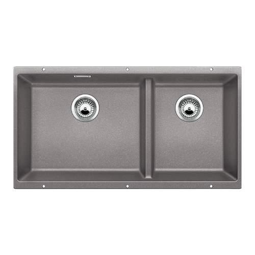Blanco SUBLINE 480/320-U Silgranit® PuraDur II® Undermount Kitchen Sink