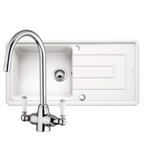 Blanco Tolon XL 6 S Kitchen Sink & Bella Kitchen Tap Pack