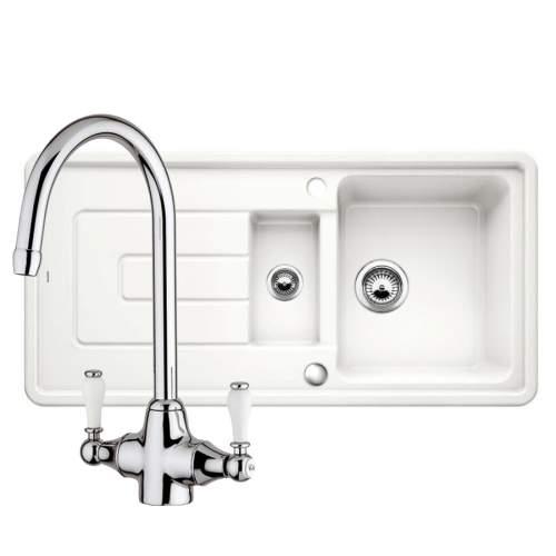 Blanco Tolon 6 S Kitchen Sink & Bella Kitchen Tap Pack
