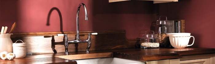 The Abode Quintessential range of kitchen taps