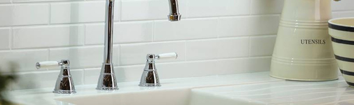 Kitchen taps requiring 3 holes from sinks-taps.com