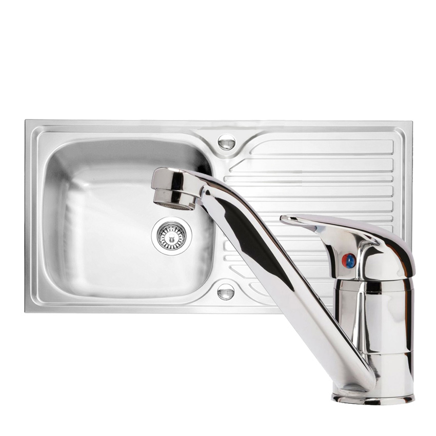Caple Arrow 101 Sink and Tap Pack - Sinks-Taps.com on plumbing vent problems, plumbing under vanity sink, plumbing a sink garbage disposal and dishwasher, plumbing under kitchen cabinets, hide pipes under bathroom sink, replace plumbing under sink, plumbing under floor, plumbing under sink wrench, plumbing under slab foundation, plumbing under concrete slab, rough out plumbing for pedestal sink, plumbing under bathtub, plumbing under bathroom, under a sink, plumbing under toilet, plumbing under house,