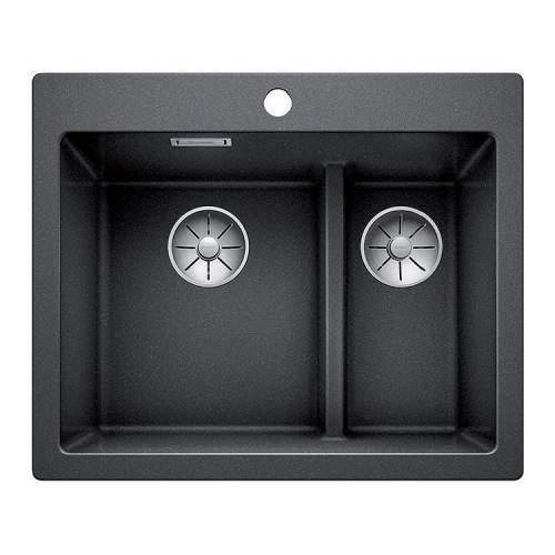 Blanco PLEON 6 SPLIT Silgranit® PuraDur II® Inset Kitchen Sink - BL468133