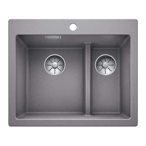 Blanco PLEON 6 SPLIT Silgranit® PuraDur II® Inset Kitchen Sink - BL468196