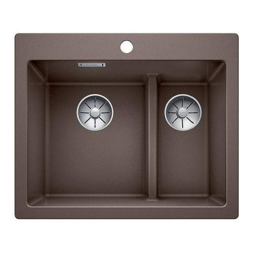 Blanco PLEON 6 SPLIT Silgranit® PuraDur II® Inset Kitchen Sink - BL468198