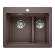Blanco PLEON 6 SPLIT Silgranit® PuraDur II® Inset Kitchen Sink - BL468198