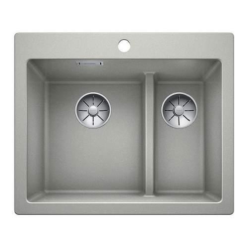 Blanco PLEON 6 SPLIT Silgranit® PuraDur II® Inset Kitchen Sink - BL468200