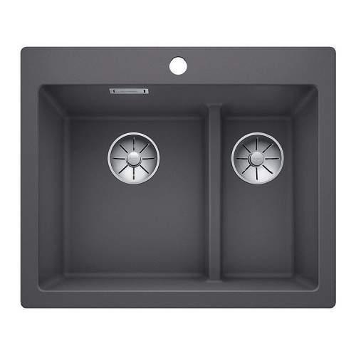 Blanco PLEON 6 SPLIT Silgranit® PuraDur II® Inset Kitchen Sink - BL468201