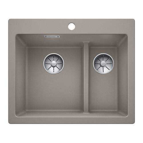Blanco PLEON 6 SPLIT Silgranit® PuraDur II® Inset Kitchen Sink - BL468202