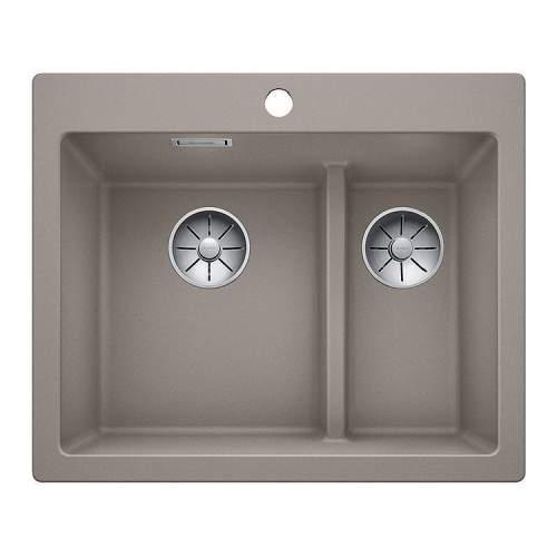 Blanco PLEON 6 SPLIT Silgranit® PuraDur II® Inset Kitchen Sink - BL468202