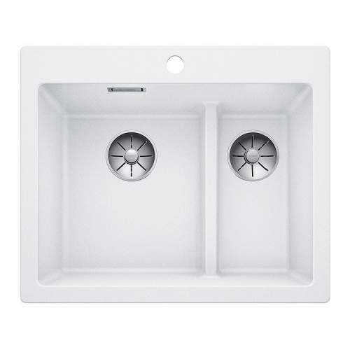 Blanco PLEON 6 SPLIT Silgranit® PuraDur II® Inset Kitchen Sink - BL468203