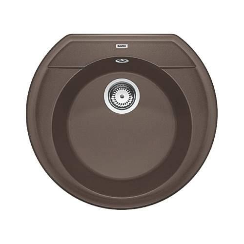 Blanco RONDOVAL 45 Silgranit® PuraDur II® Inset Granite Kitchen Sink
