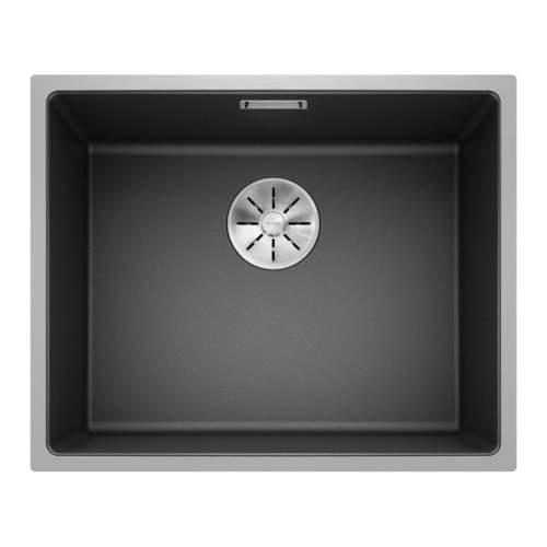 Blanco SUBLINE 500 IF STEEL FRAME Silgranit® PuraDur II® Inset Granite Kitchen Sink