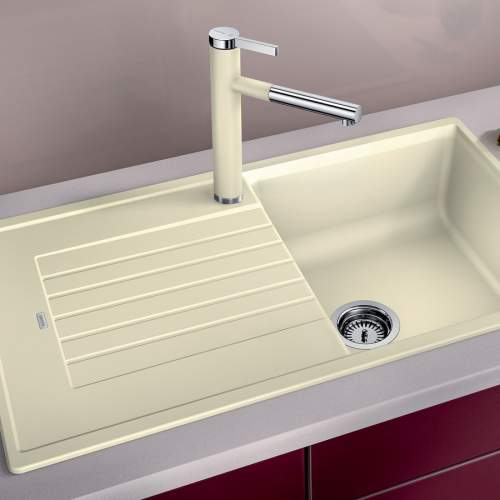 Blanco ZIA 5 S Silgranit® PuraDur II® Inset Granite Kitchen Sink