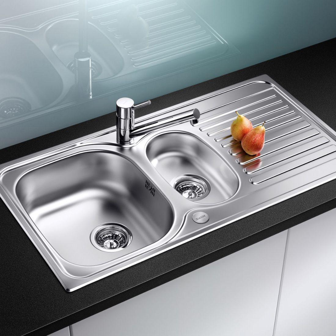 Blanco Toga 6 S 1 5 Bowl Inset Kitchen Sink Sinks Taps Com