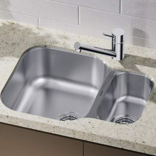 Blanco Essential 530-U Sink with HALF PRICE Peak Tap