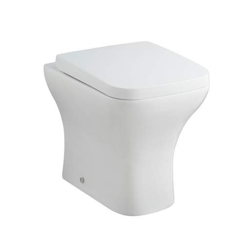 Aquabro Back to Wall Pan with Wrapover Seat