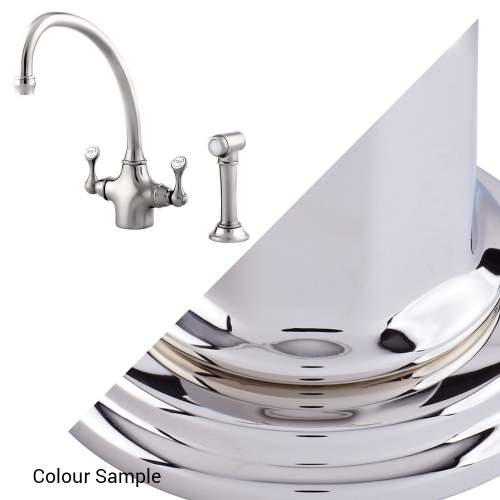Perrin and Rowe 4350 Etruscan Kitchen Tap with Rinse