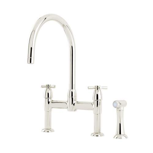 Perrin and Rowe IO 4272  Kitchen Tap With Handspray