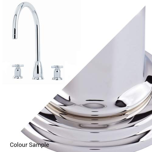Perrin and Rowe CALLISTO 4885 Three Hole Kitchen Tap