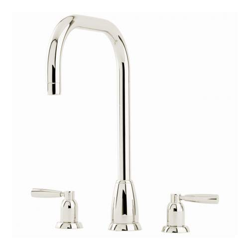 Perrin and Rowe CALLISTO 4888 Three Hole Kitchen Tap