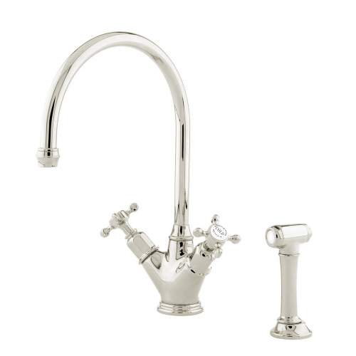 Perrin and Rowe MINOAN 4365 Kitchen Tap with Rinse