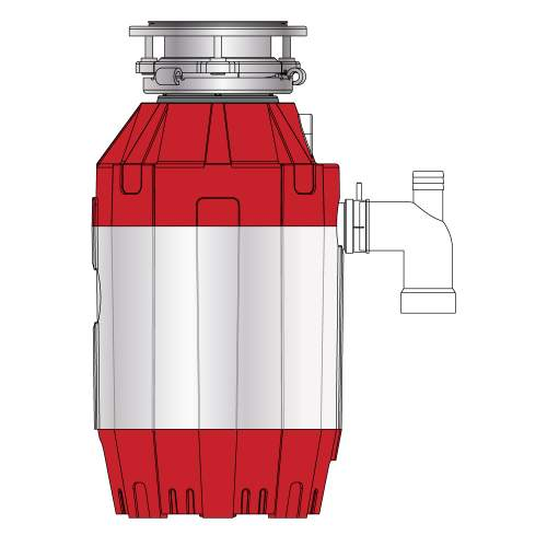 Franke Turbo Elite TE-125 Waste Disposal Unit 134.0473.237
