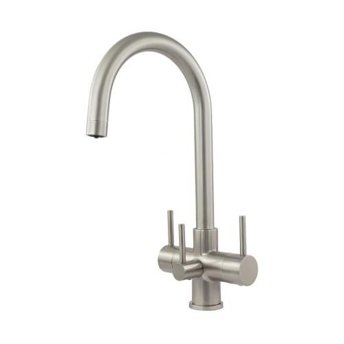 Bluci CARO2 Brushed TriPuro Water Filter Kitchen Tap
